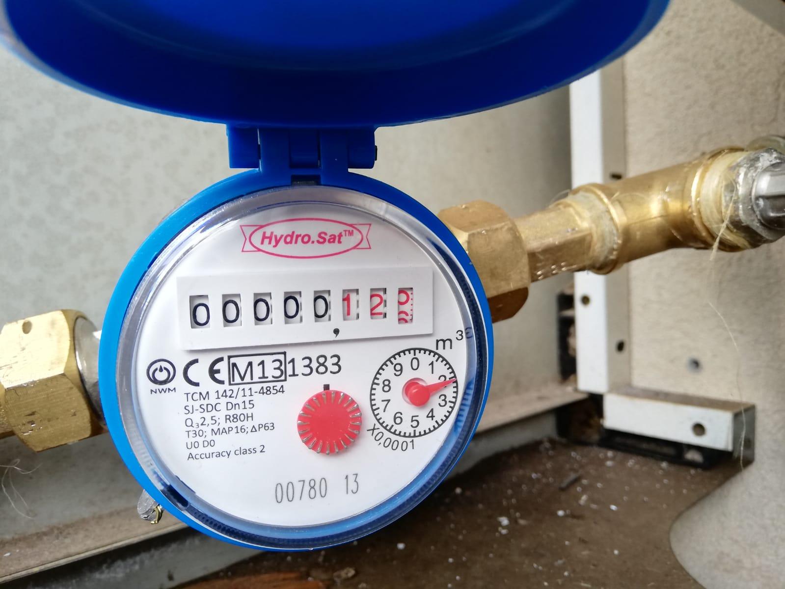 contatore acqua per incremento risparmio cliente con solare termico
