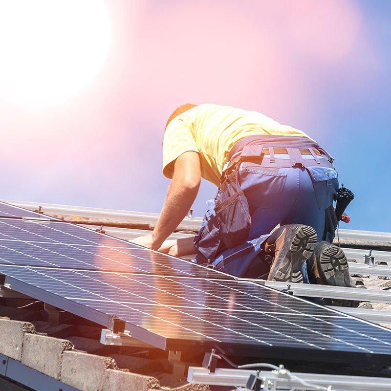 installazione pannelli fotovoltaici - bar Paladino a Cesarò | Gruppo Altea Srl