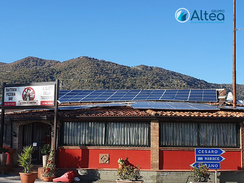 impianto Fotovoltaico la locanda del carrettiere by Gruppo Altea