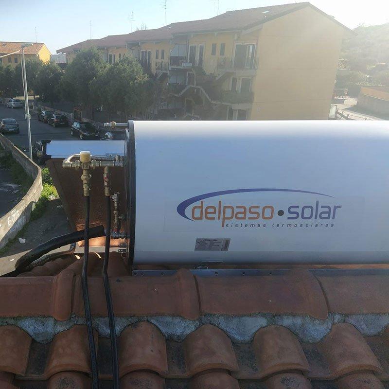 Delpaso Solar boiler da 320lt per impianto solare termico in sicilia