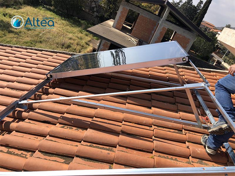 inziio montaggio solare termico