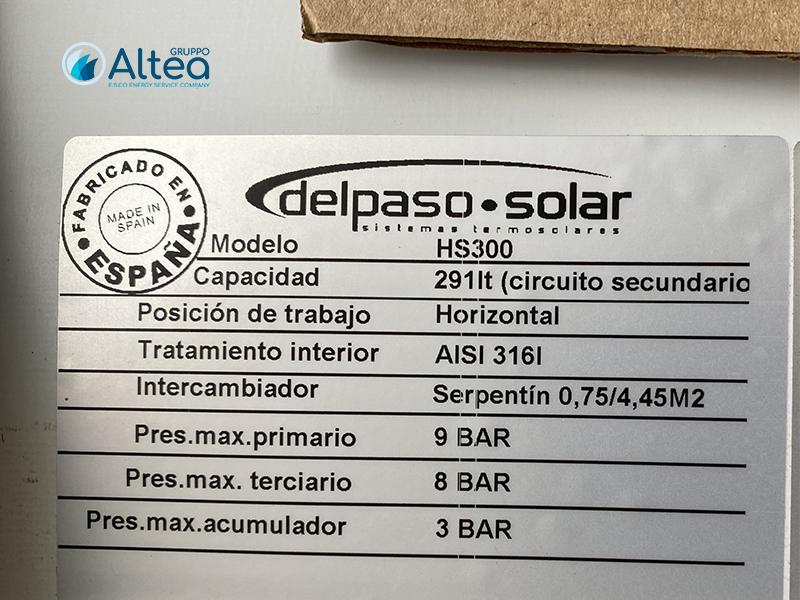 delpaso solar etichetta impianto