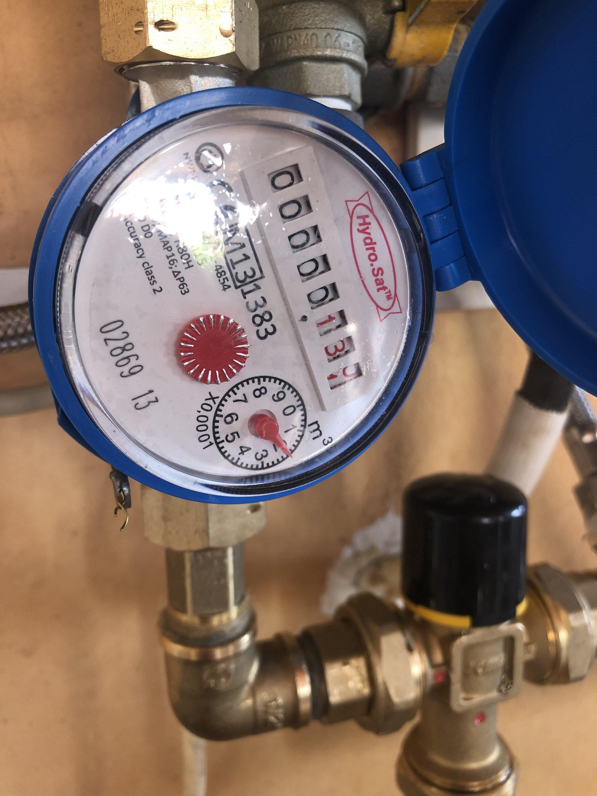 Impianto solare Termico con contatore acqua