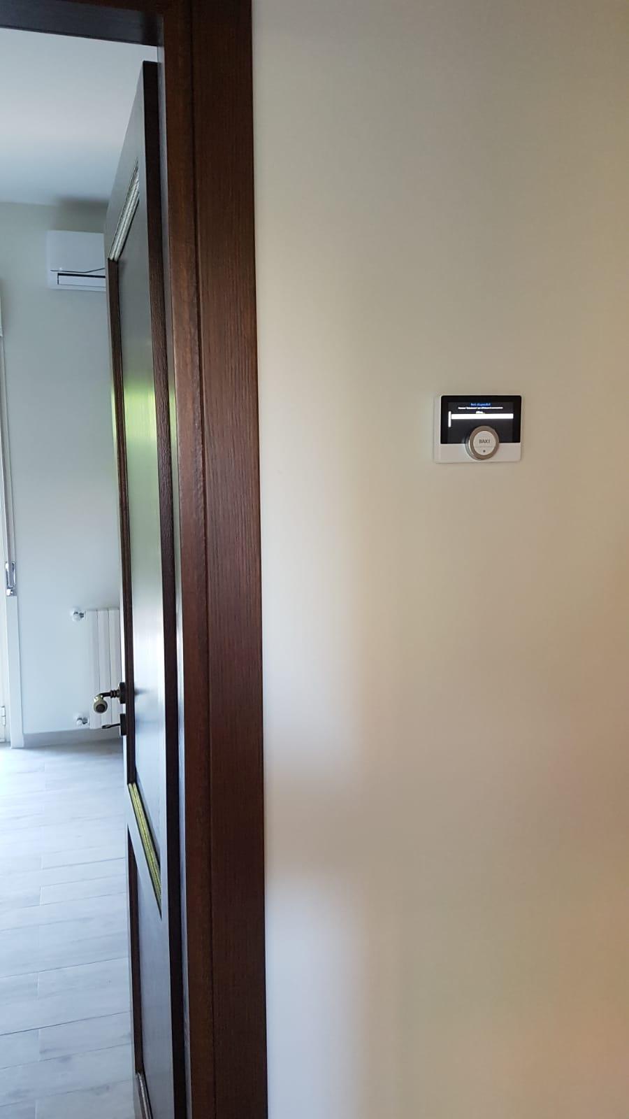 Cronotermostato Baxi MAgo installazione indoor