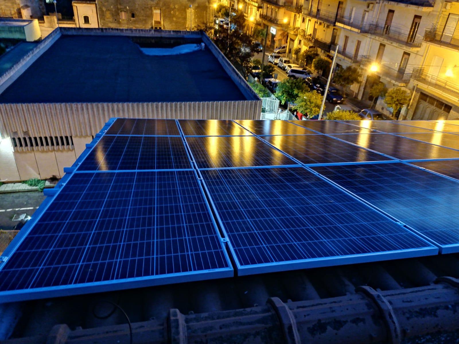 installazione a tetto impianto fotovoltaico 6 kw