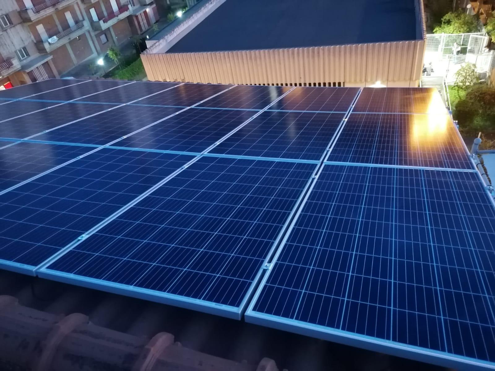 fotovoltaico a tetto