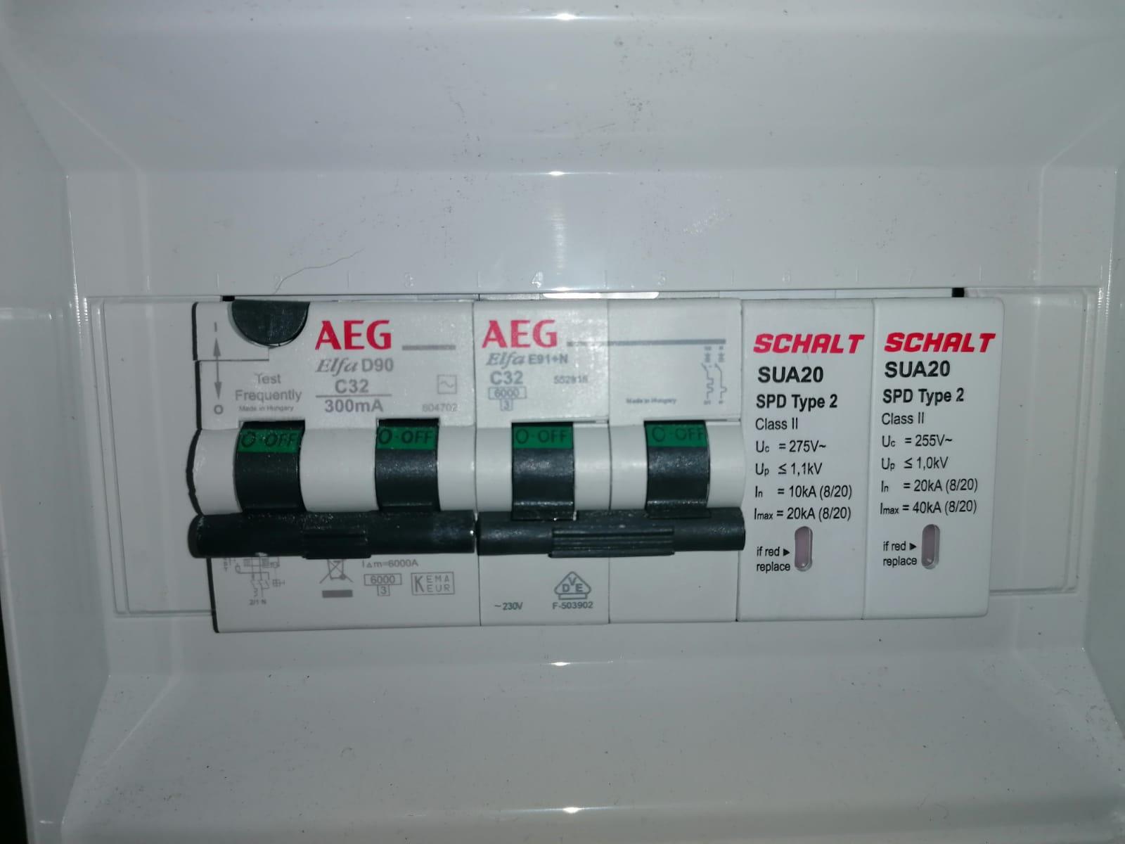 Impianto elettrico AEG