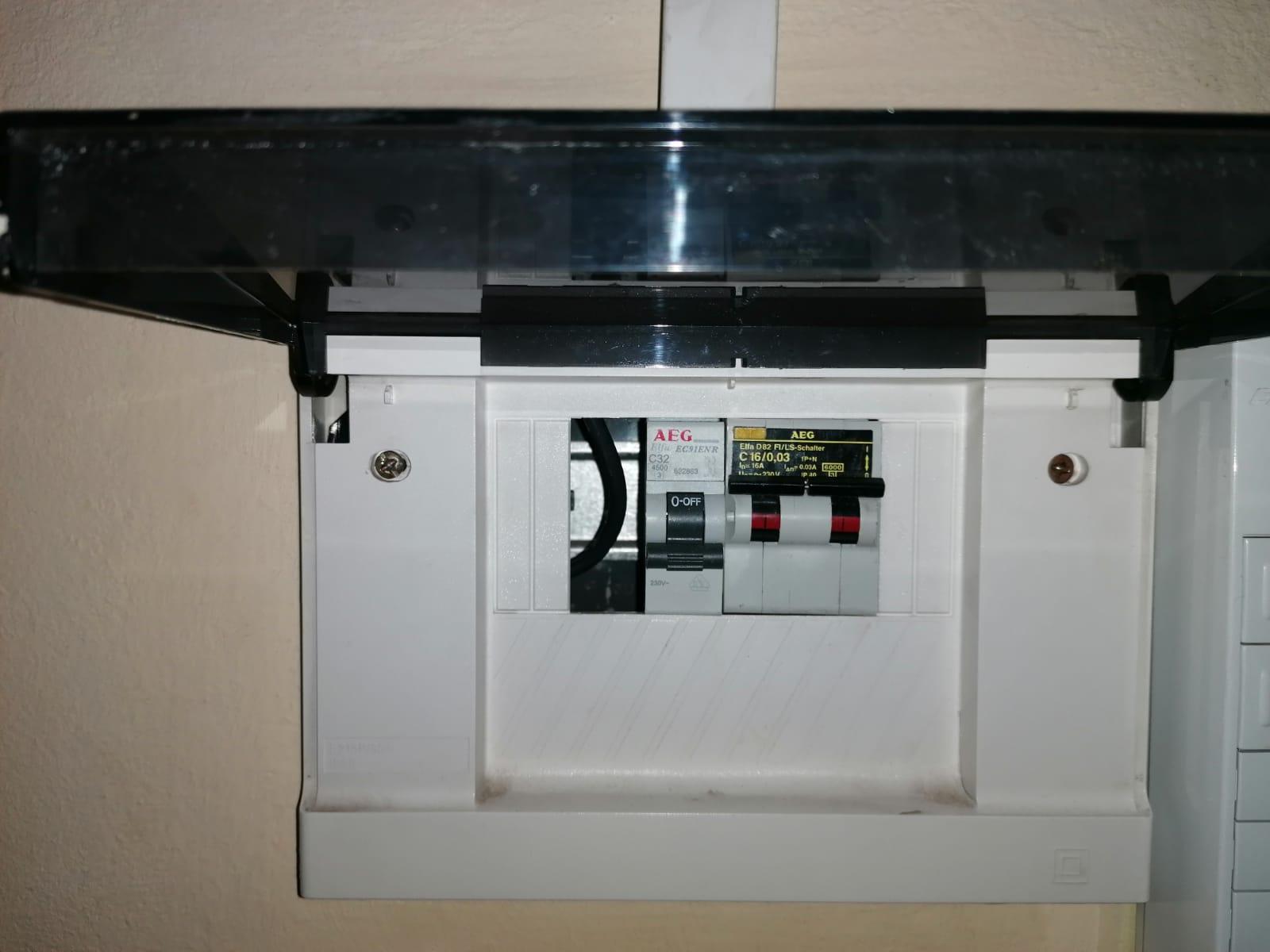interrutore elettrico per impianto FV