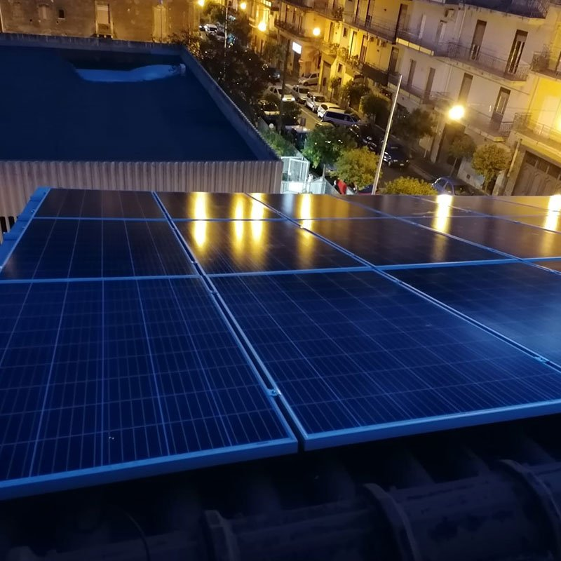 Pannelli fotovoltaici e montaggio