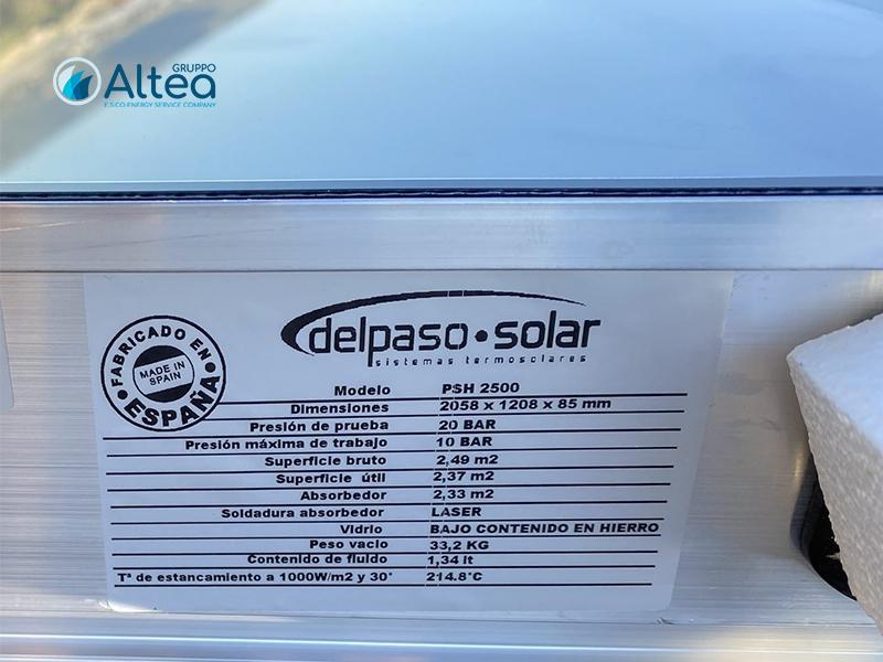 delpaso solar informazioni prodotto