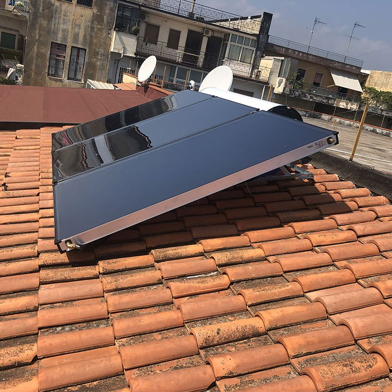 Installazione del paso solare Quattrocchi - Gruppo Altea SRL