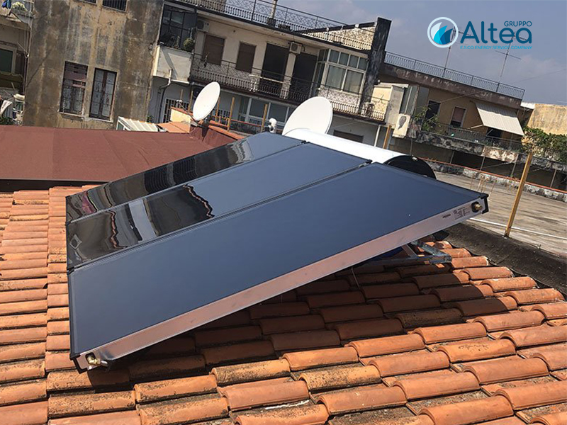 pannelli solari installati