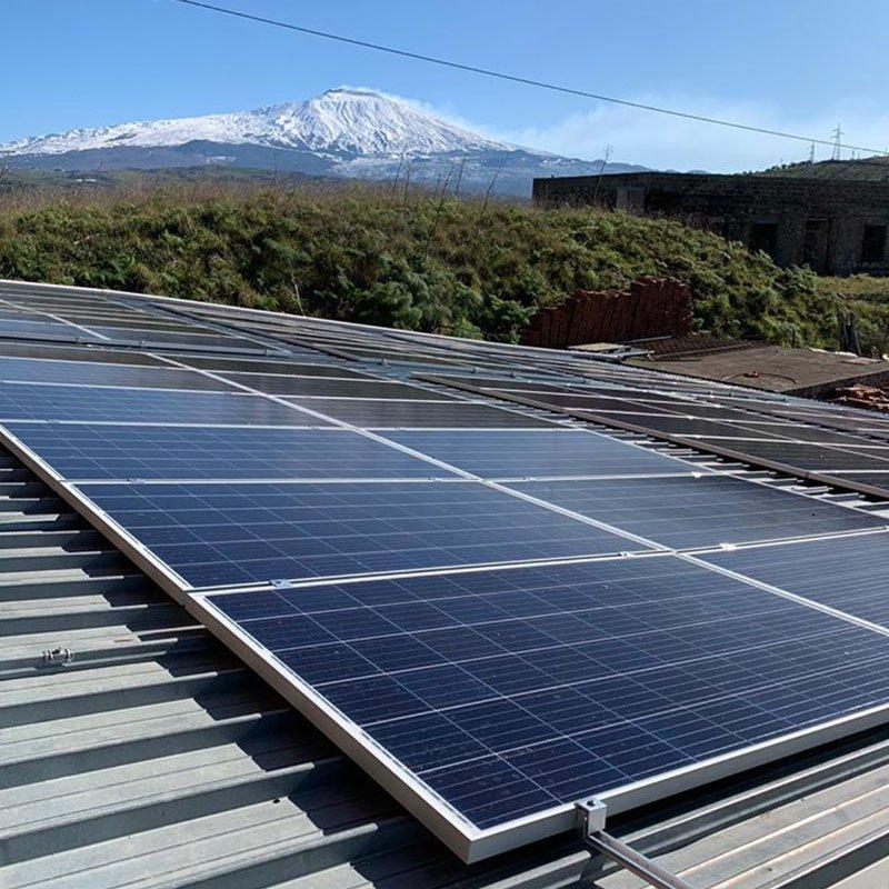Fotovoltaico 20kW bar Paladino Cesarò