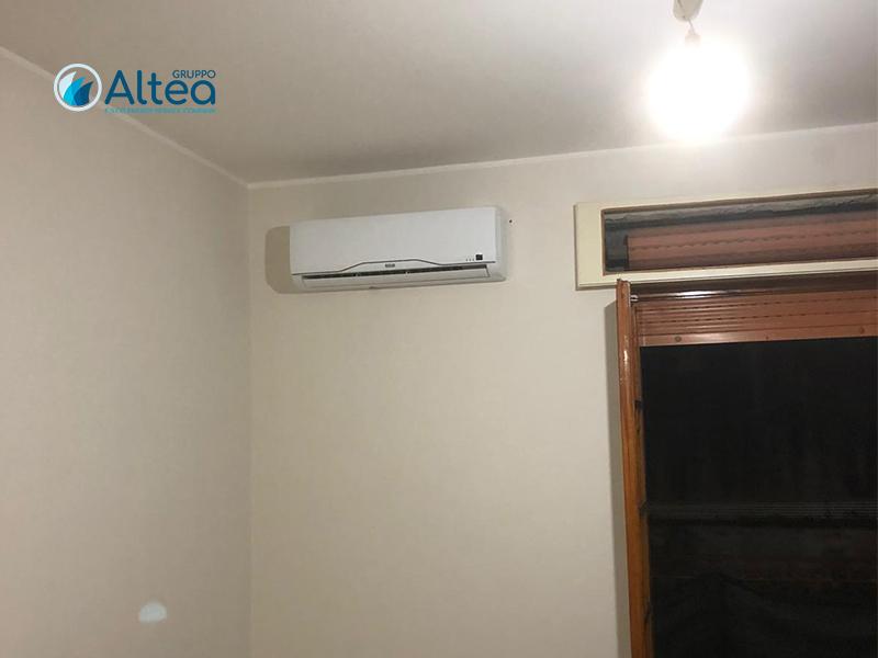 Climatizzatore Riello fine installazione