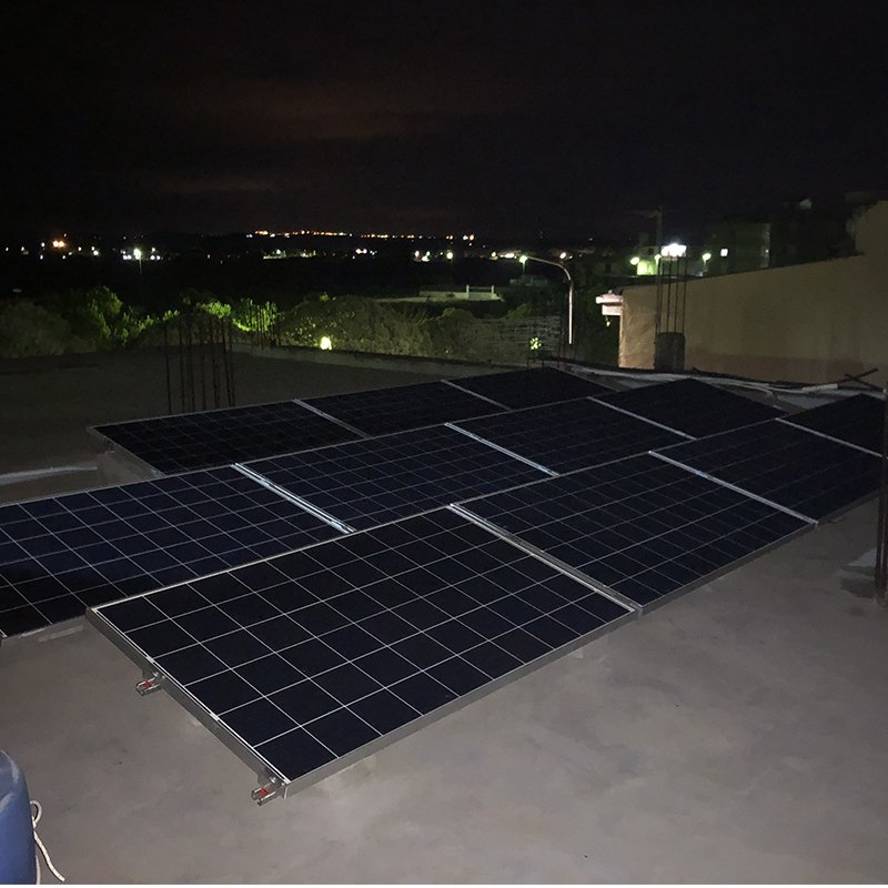 Impianto fotovoltaico 3KW residenziale con monitoraggio wifi incluso