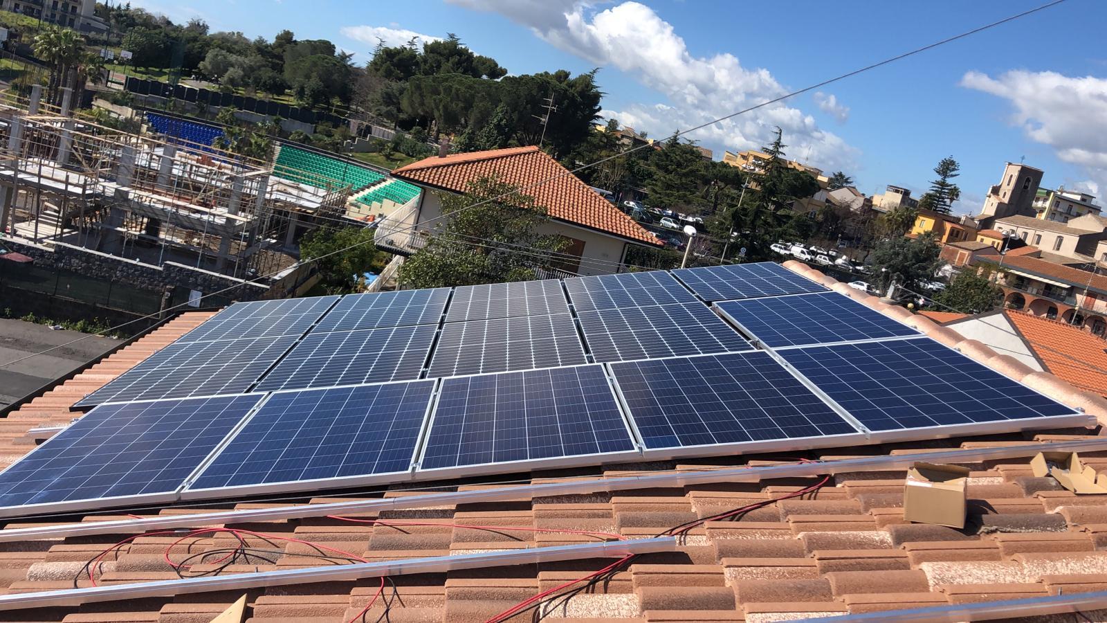 fotovoltaico e tegolato