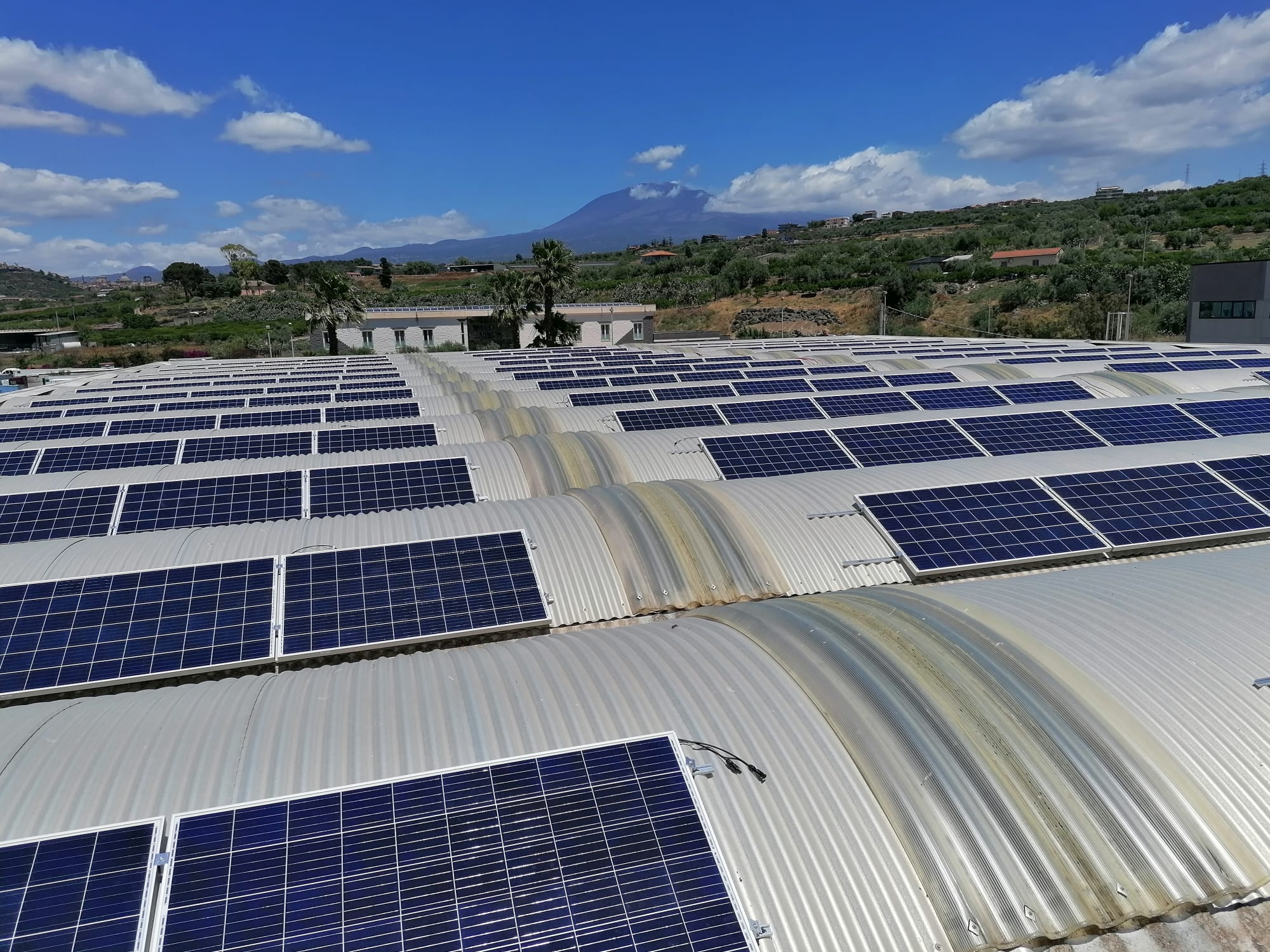 Pannelli fotovoltaici Paternò