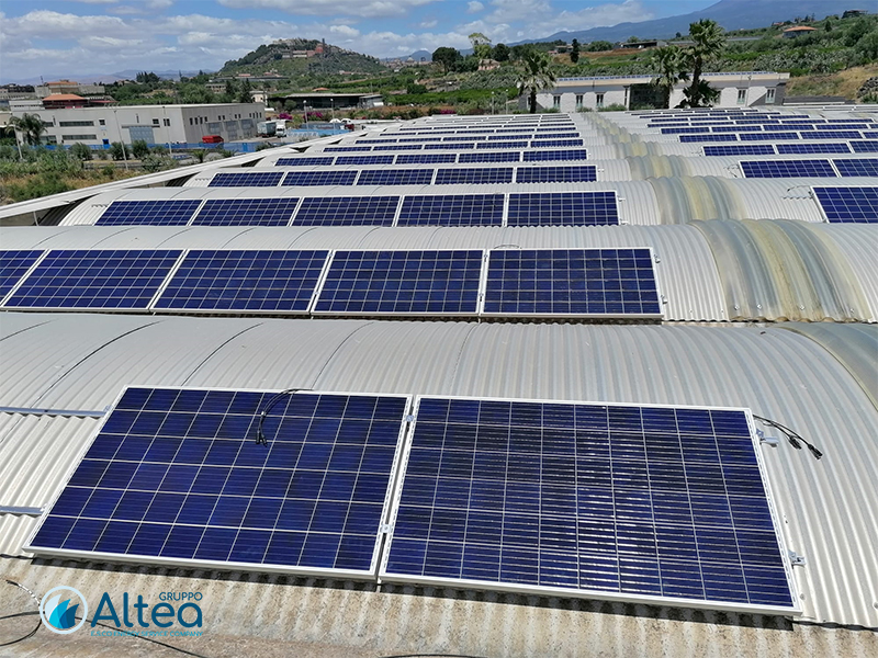 Gruppo Altea installazione pannelli fotovoltaici