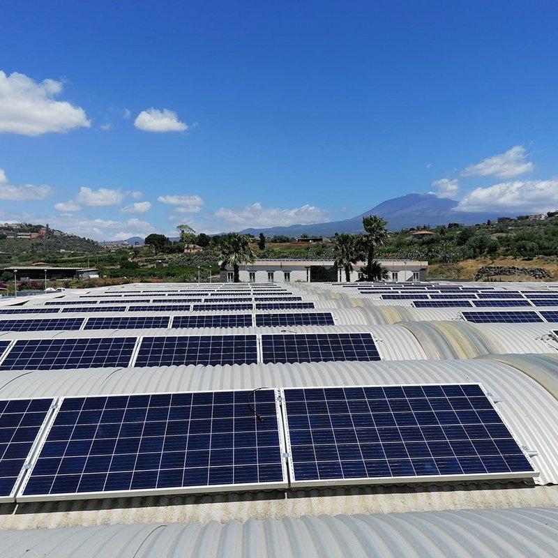 Ambiente, tutela sicilia Etna e Fotovoltaico