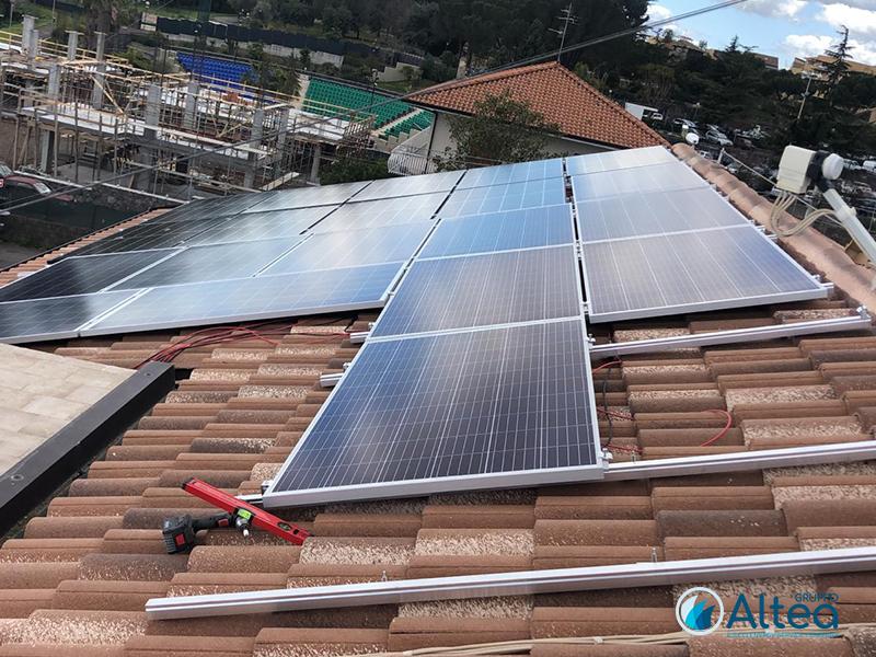 fotovoltaico a tetto idea costruzioni