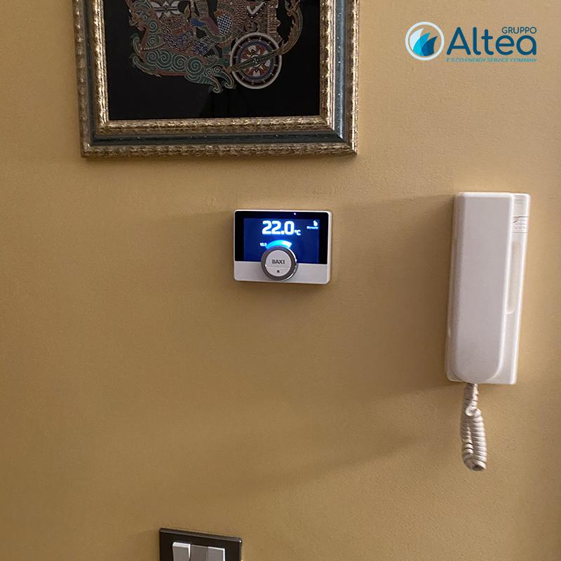 crono termostato baxi mago evoluto per regolare la temperatura di casa