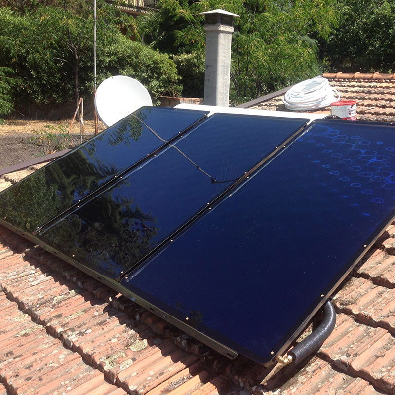 Cliente Gruppo ALTEA Buffo - Solare impianto termico