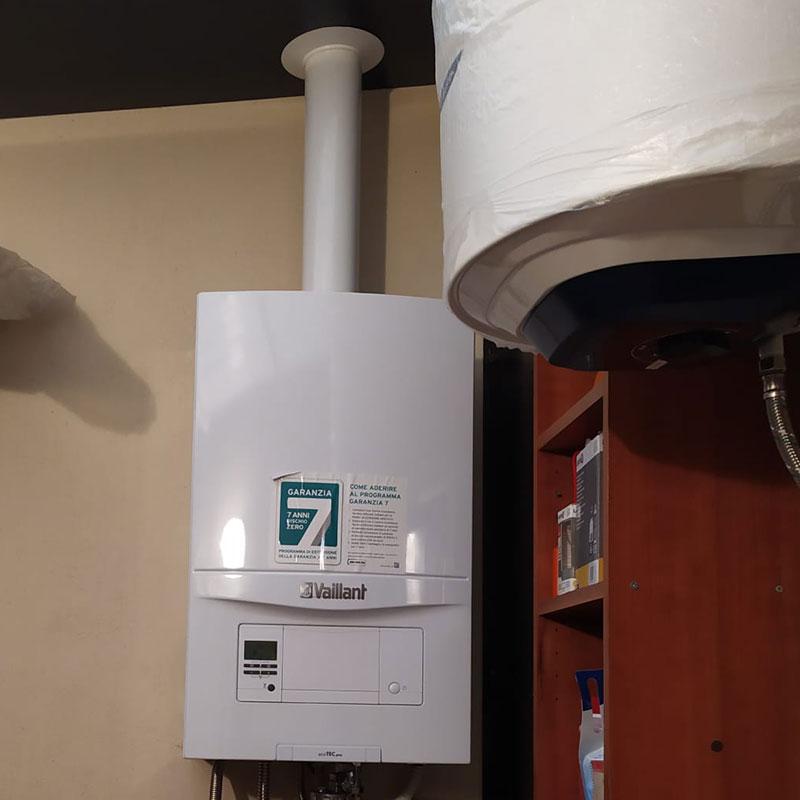 Installazione caldaia 24kW Vaillant